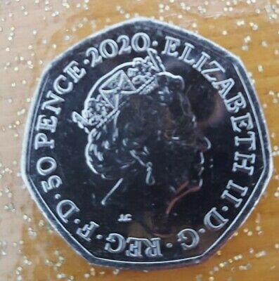 BREXIT 50p Pence january 2020  Peace, Prosperity & Friendship all Nations 4