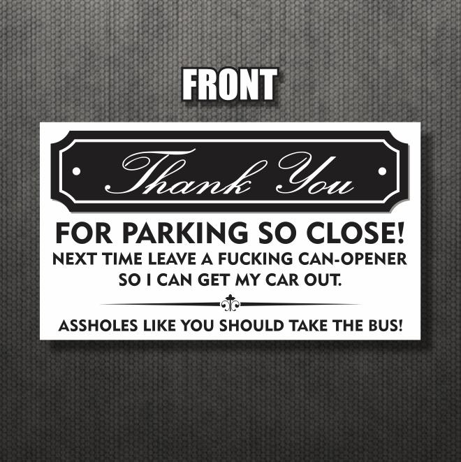 25 pack bad parking business cards funny joke gage fake parking pack bad parking business cards funny joke gage fake parking ticket prank reheart Choice Image