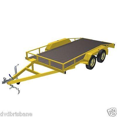 Trailer Plans    -    2500kg FLATBED CAR TRAILER PLANS    -    PRINTED HARDCOPY 4