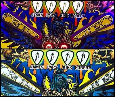 Pinball Flipper Bat Topper MOD Yellow /& Black Pile of Skulls