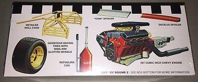 AMT 1972 Bobby Allison Coca-Cola Monte Carlo Stock Car Body Set 1//25 Scale