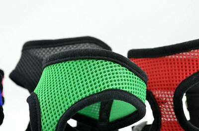 Soft Mesh Fabric Dog Puppy Pet Adjustable Harness   Lead Leash with Clip 4