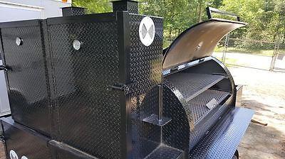 Big Hog Mobile Kitchen BBQ Smoker Trailer Food Truck Catering Concession Vending