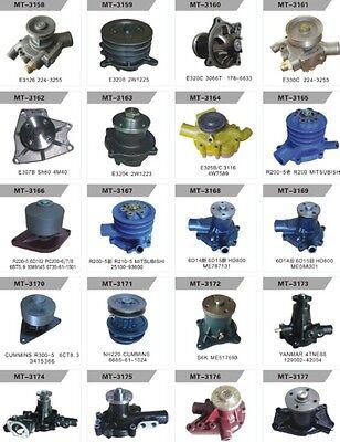 FITS Komatsu D20A-6 D21A-6 D20A-7 D21A-7 WATER PUMP 4D95S DOZER 6204-61-1304,NEW 4