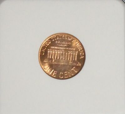 1961 D MS 66 Red NGC Graded Lincoln Memorial Cent 2