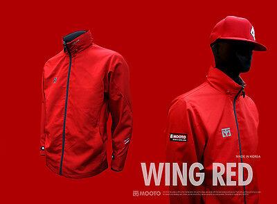 Windbreaker with Optional Patch TKD KUKKIWON WT Black MOOTO Wing Jacket S2