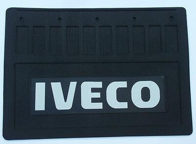 2 x Schmutzfänger 450 x 300 Spritzlappen Spritzschutz LKW Anhänger IVECO