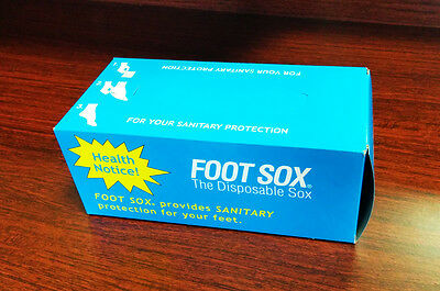 Foot Sox, Disposable Try on Peds / Footies / Socks / For WOMEN, Beige, 144 Pack 3