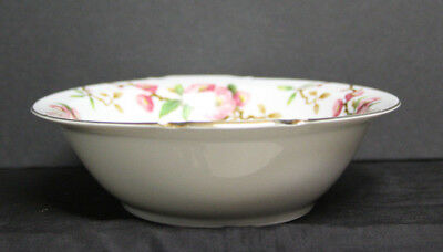 """Vintage """"Blossomtime"""" Oval Serving Bowl - Narumi Japan-Cherry Blossoms 3"""