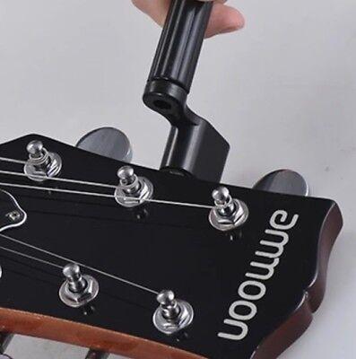 Guitar String Winder & Bridge Pin Remover/Puller - Black