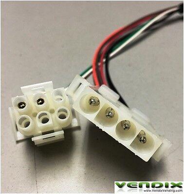 Adapter harness From 27 Volt Maka to 24 Volt Mars VN2512 bill validators