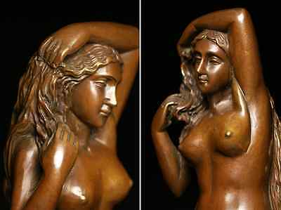 Antique Beautiful Naked Woman / Bronze /  size w12 h44 [ cm ] 3.36kg 3