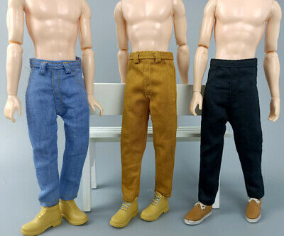 1/6 Boy Doll Clothes Hip Hop Handmade Pants For Ken Doll Trousers Casual Wear 7