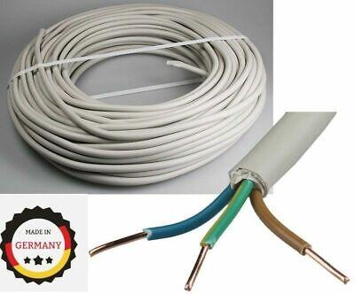 NYM-J 10-500m Meter Mantelleitung Elektroleitung Kabel Installationsleitung Mtr.