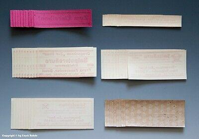 - 60 x Etiketten für Apotheken Flaschen aus SOEST um 1900-1960 - 5