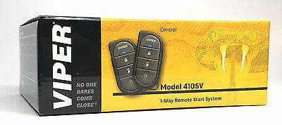 Viper 4105V Remote Car Starter & DB3 Bypass (2) 4-Button Remotes Keyless NEW 5