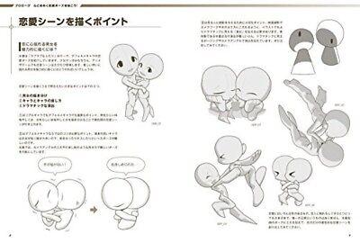 BL Manga Kiss Scene Dessin Pose Book doujinshi CD-ROM From Japan