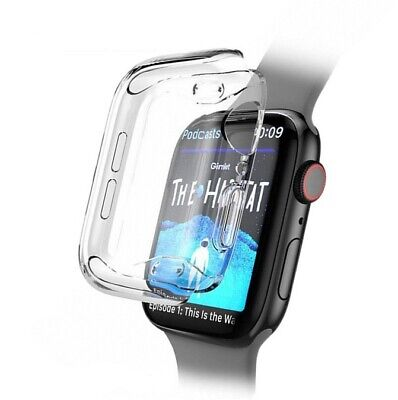 Full Cover TPU Case iWatch Screen Protector For Apple Watch Series 4 3/ 2 / 1 3