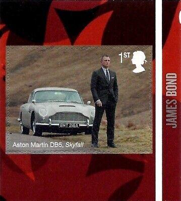 James Bond 2020 Mint Presentation Pack 583 Stamps Sheet Prestige & Retail Books 9