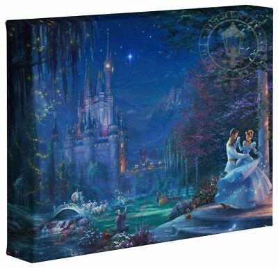 Thomas Kinkade Studios Disney 8 x 10 Gallery Wrapped Canvas (Choice of 6) 2