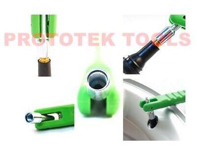 kit leva installazione valvole per cerchi ruote gomme, kit 3 pezzi