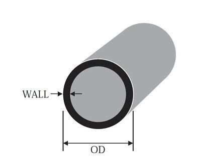 ALUMINIUM ROUND TUBE METRIC 48mm 50mm 55mm 60mm 65mm 2