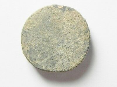 ZURQIEH -aa513- BYZANTINE. Round 3 numismata weight (20mm, 13.71g). Uncertain in 2