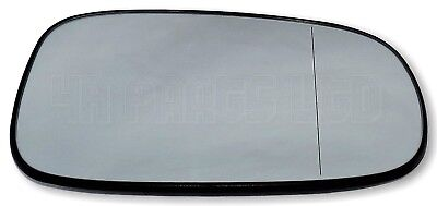 plate Right side Flat Wing mirror glass for Saab 9-3 2002-2010 heated