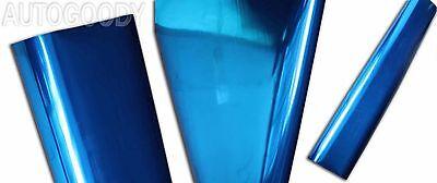 Chrome Mirror Vinyl Film Wrap Sticker Decal Stretchable Reflective Super Gloss 6