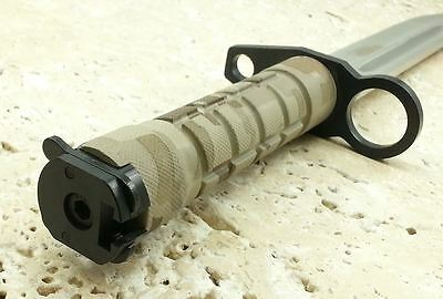 """13"""" MILITARY SURVIVAL Fixed Blade M9 BAYONET Hunting Knife RAMBO TACTICAL BOWIE 6"""