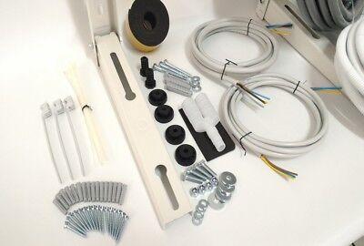 kit montaggio condizionatore climatizzatore 2 metri 1/4 3/8 full optional 2
