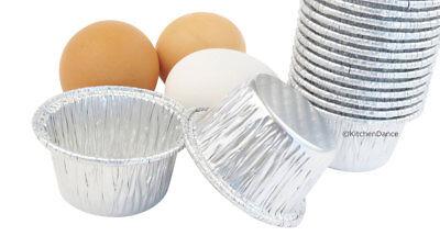 2 oz. Disposable Aluminum Foil Cup -  #S220