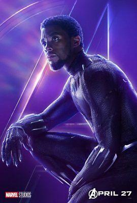 AVENGERS: INFINITY WAR Character Poster Hulk Iron Man Captain America A5 A4 A3 3
