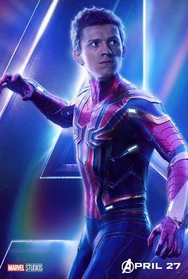 AVENGERS: INFINITY WAR Character Poster Hulk Iron Man Captain America A5 A4 A3 8