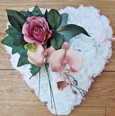 Silk Artificial Funeral Flowers Wreath/Memorial/Grave Tribute Wreaths 6