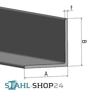 STAHL-SHOP24 Winkelstahl verzinkt Winkeleisen gleich und ungleichschenklig 5