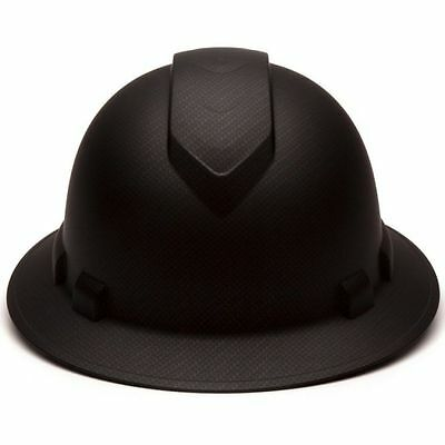 ... Pyramex Ridgeline Graphite Pattern Full Brim Hard Hat 4 Point Ratchet  Suspension 2 52a6cf060999