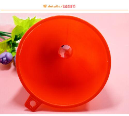 Entonnoir de l'huile entonnoir en plastique de cuisine Neuf 2