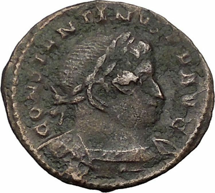 CONSTANTINE I the GREAT 310AD Trier RARE Mars Reverse Ancient Roman Coin i54402 2