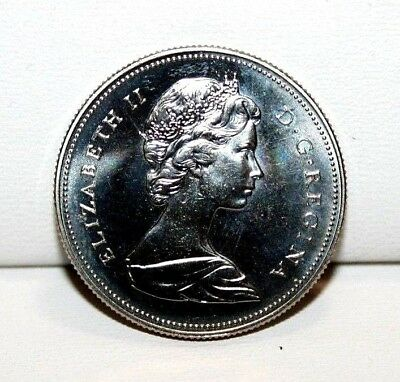 1970 Canada 50 Fifty Cent Proof Like Coin 6