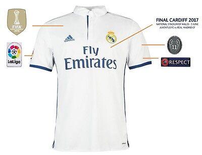 2 sur 4 Trikot Real Madrid Home Champions League Final Cardiff 2017 - 12  Duodecima 9ac3e6f2ceb91