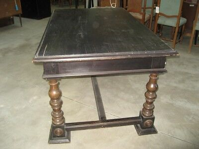 Tavolo Antico Rettangolare.Tavolo Antico Rettangolare Epoca Primi 900 In Stile 1600 Emilia Art 3510 01