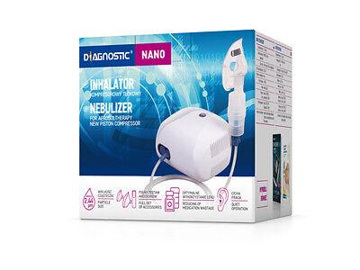 Inhalator Nano Inhalationsgerät für Erwachsene Kinder Inhaliergerät Vernebler 2