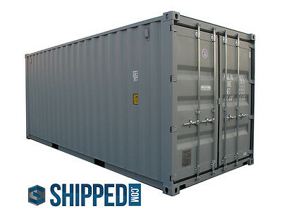 WE DELIVER SHIPPING CONTAINERS in FLORIDA 20' NEW SECURE HOME / BUSINESS STORAGE 2
