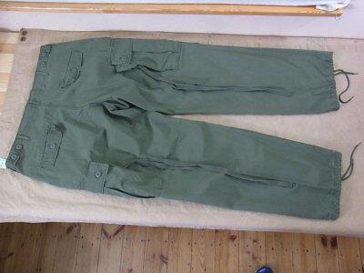 sz.XL US ARMY VIETNAM Feldhose Field Trousers Jungle Pants M64 oliv Hose 1st Cav