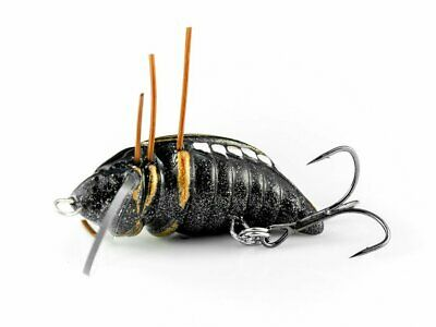 32mm 2g leurres de surface floating Insecte Microbait Great Beetle