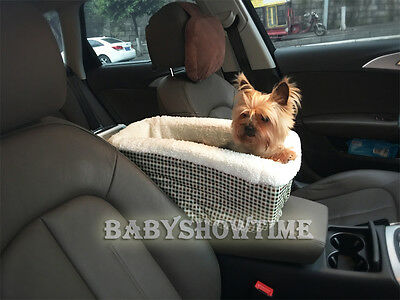 Pet Dog Cat Puppy Booster Car Seat Outdoor Console Suv