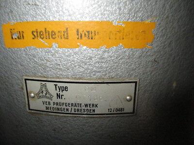 1. Transport - Zylinder mit 2 Griffen, 60 cm hoch, innen kupferfarbenes Glas,DDR
