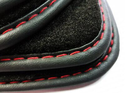 Fußmatten für VOLVO V40 Original Qualität Ziernaht Silber Premium Velours