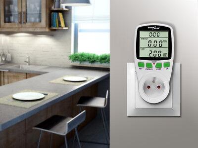 Consommation d'énergie mètre prise compteur économies d'énergie wattmètre 2